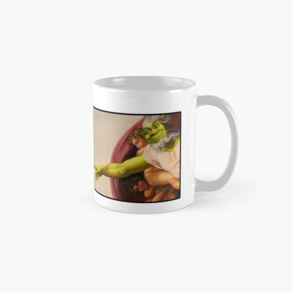 Shrek hands of God Classic Mug