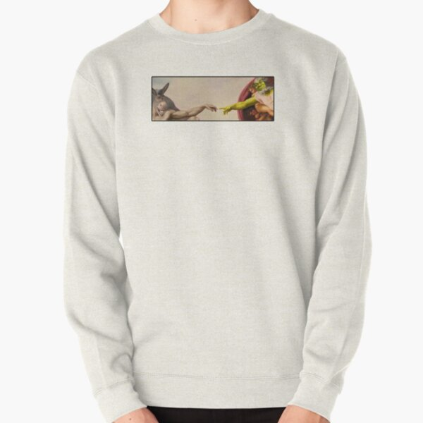 Shrek hands of God Pullover Sweatshirt