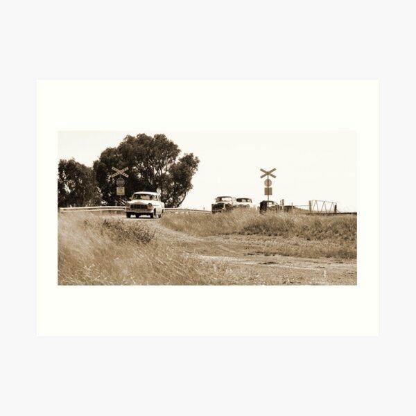 Holden Rail Crossing Art Print