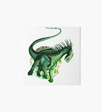 Amargasaurus (without text)  Art Board Print