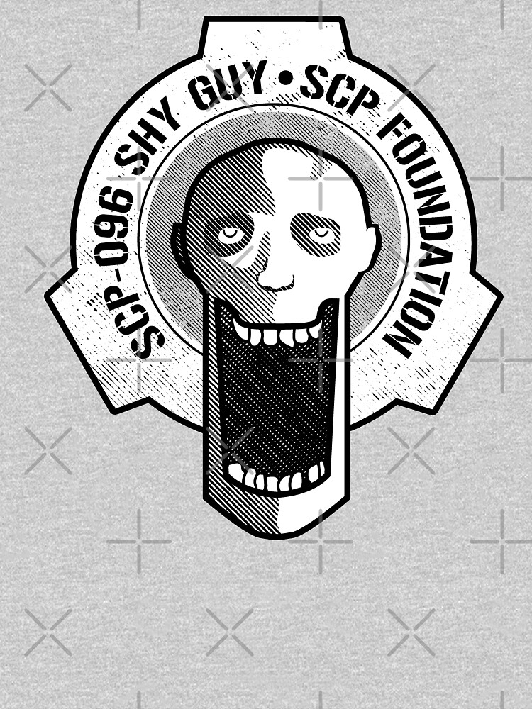 SCP-096 Shy Guy SCP Foundation by opalskystudio