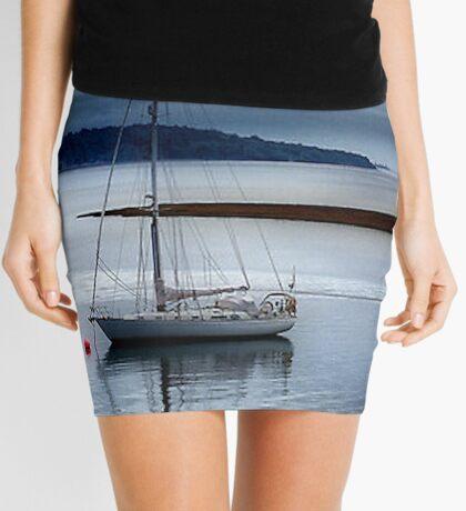 Shimmering Sea Mini Skirt