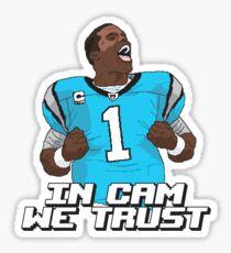 In Cam We Trust - 16 bit Edition Sticker