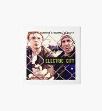 Elektrische Stadt Album Artwork Galeriedruck