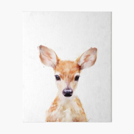 Little Deer Art Board Print