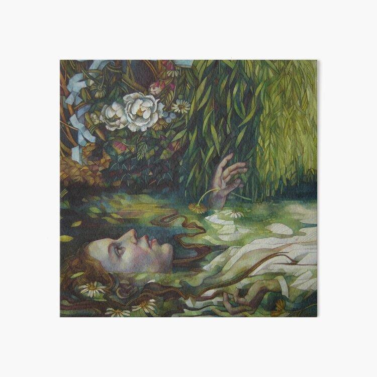 Ophelia Art Board Print