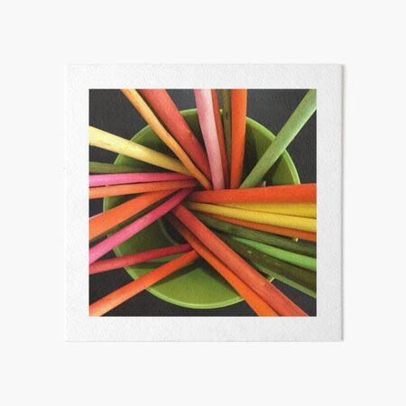 Bucket of Color Art Board Print