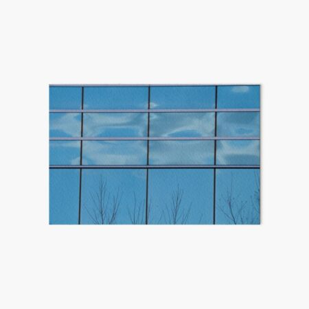 Fractured Cloud Art Board Print