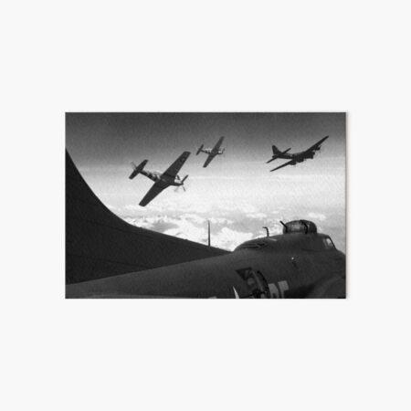 The Final Mission (Monochrome Version) Art Board Print
