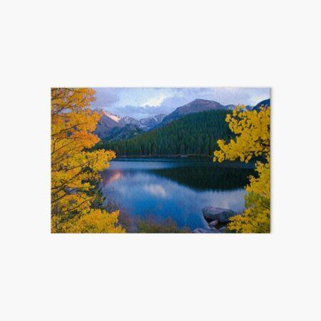 Longs Peak from above bear Lake Art Board Print