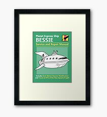 Bessie Service and Repair Manual Framed Print