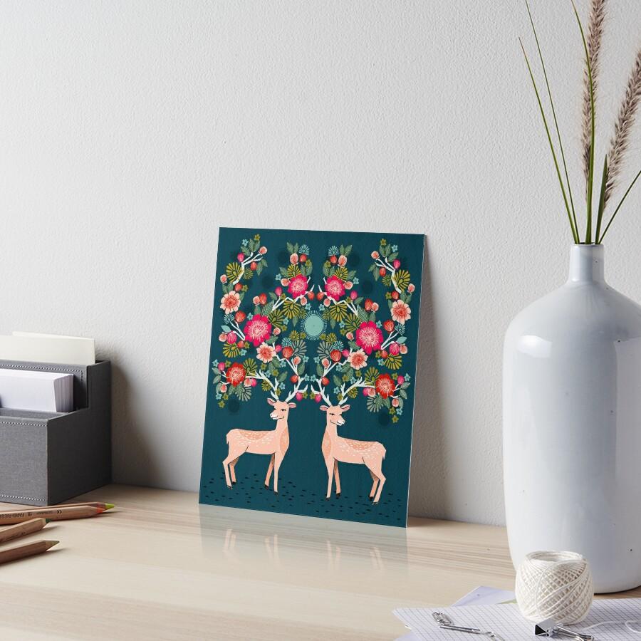 Doe a Deer Galeriedruck