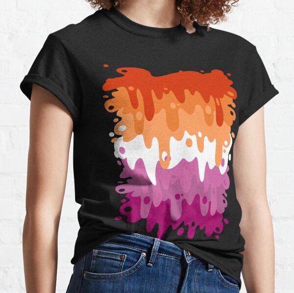 Lesbian Pride Goop Classic T-Shirt