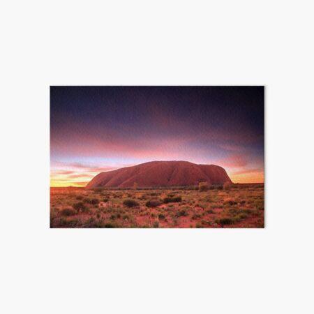 Ayers Rock (Uluru), Sunrise, NT, Australia Art Board Print