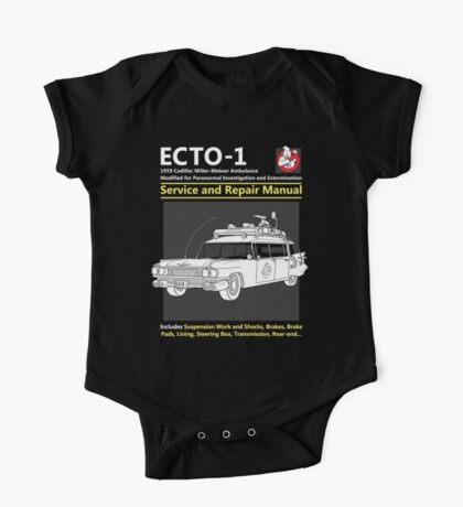 ECTO-1 Service and Repair Manual Kids Clothes