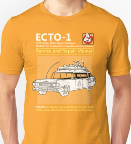 ECTO-1 Service and Repair Manual T-Shirt
