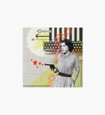 Bang Bang Art Board Print