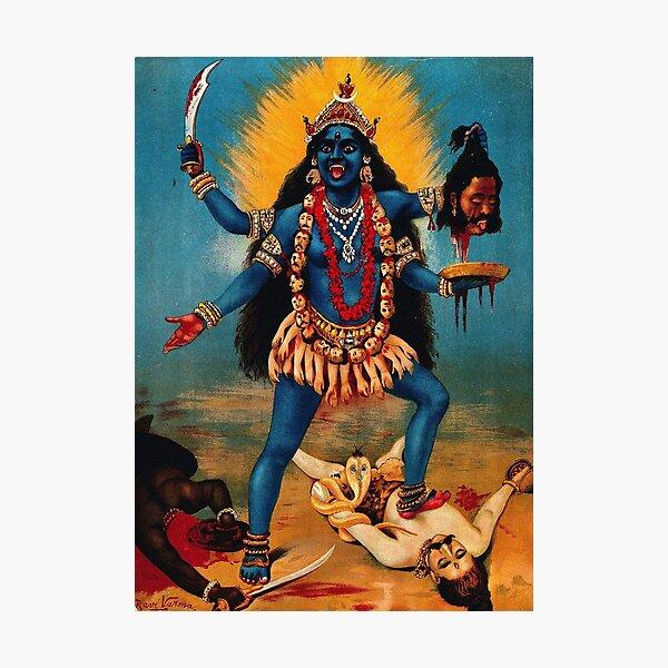Kali Ma Hindu Deity Photographic Print