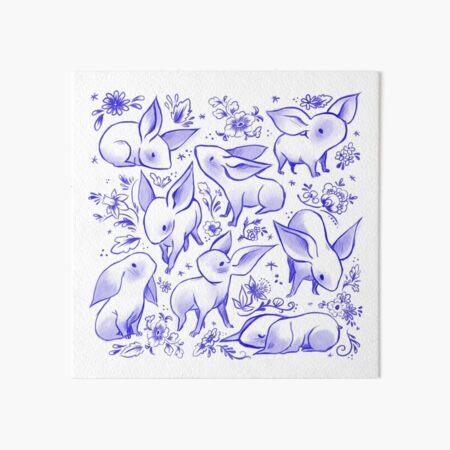Delft Nugs Art Board Print