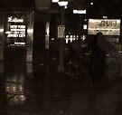 Bag Lady Seeking Shelter... V2 by C. Rodriguez