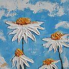 Four Daisies by marymirabalart