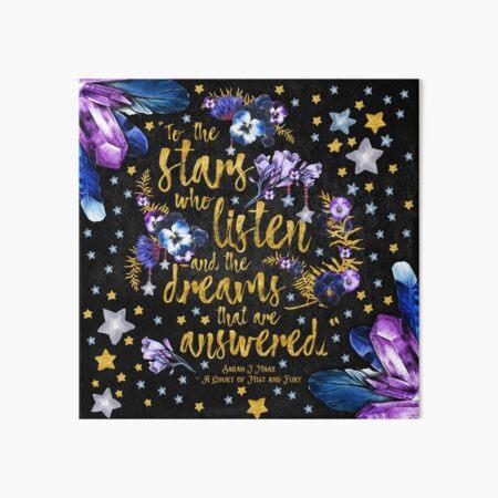 ACOMAF - Zu den Sternen Galeriedruck