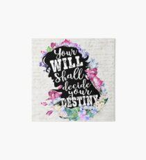 Jane Eyre - Destiny Art Board Print
