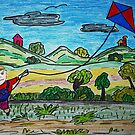 Kite Fun by Monica Engeler