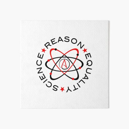 Science Reason Equality  Art Board Print