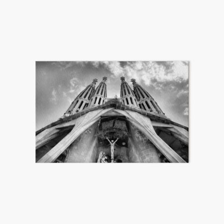 La Sagrada Familia Art Board Print