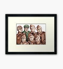 Dad's Army Framed Print