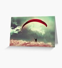 Always soar high, brave heart ! Greeting Card