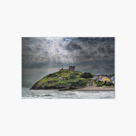 Criccieth Castle Art Board Print