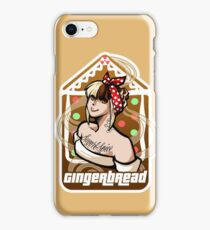 Gingerbread Pin up iPhone Case/Skin