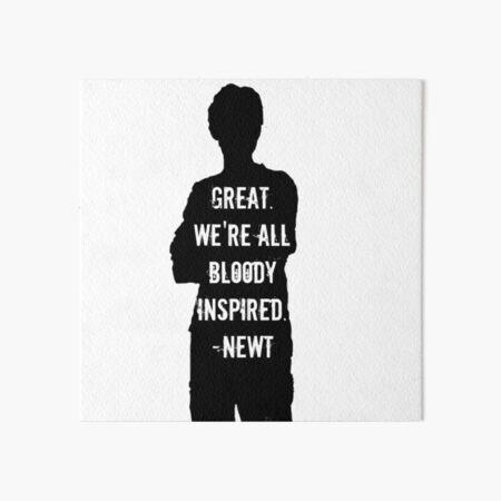 Bloody Inspired Art Board Print