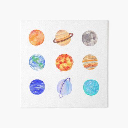 Planeten Galeriedruck