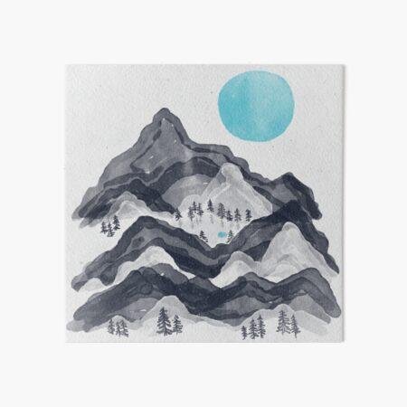 The Sun in Moon Lake... Art Board Print