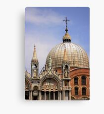 St Mark's Basilica Canvas Print