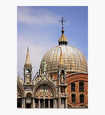 St Mark's Basilica Photographic Print