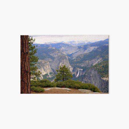 """Upper Merced River Canyon"" Art Board Print"
