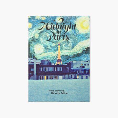 Midnight In Paris Poster Art Board Print