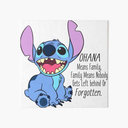 lilo and stitch  Art Board Print