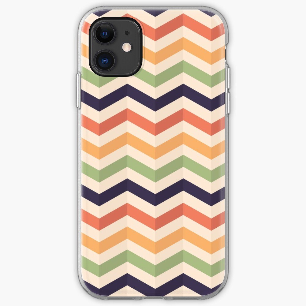Geometric Zig Zag Background With 3d Effect Iphone Case Cover By Kanae19 Redbubble