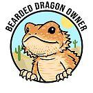 Bearded Dragon Owner by PogonaVitticeps