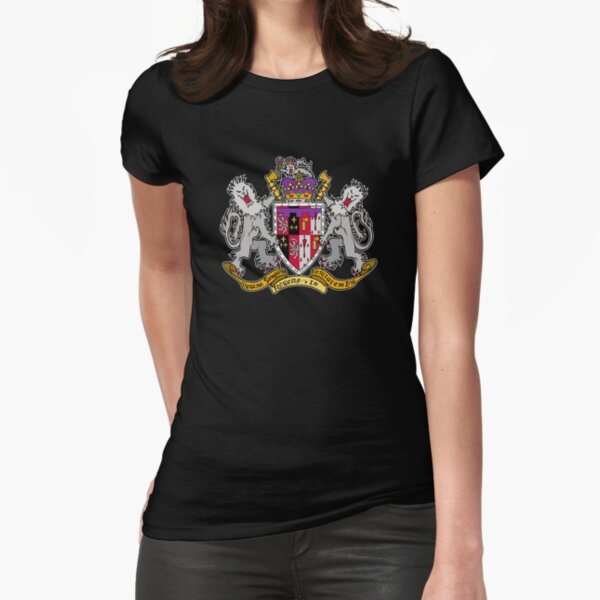 Dark Ages Clan Shield: Ventrue Fitted T-Shirt