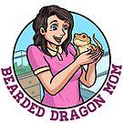 Bearded Dragon Mom by PogonaVitticeps
