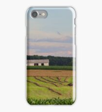 Summer Evening Beyond the Corn Field iPhone Case/Skin