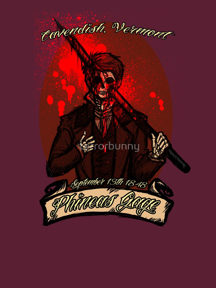 Phineas Gage by terrorbunny