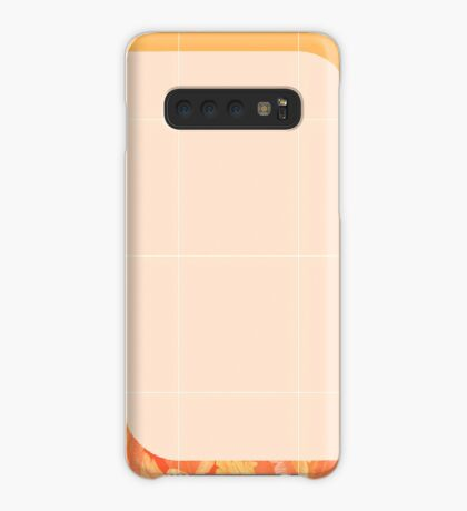 Mid-Century Tropical Orange Style #redbubble #tropical Case/Skin for Samsung Galaxy