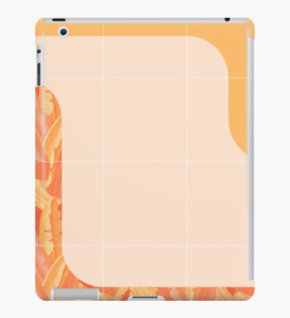 Mid-Century Tropical Orange Style #redbubble #tropical iPad Case/Skin